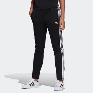 Adidas Black Stripe Track Pants